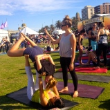 Acro Yoga - so hot right now!