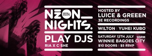 PLAY DJS_Neon Nights